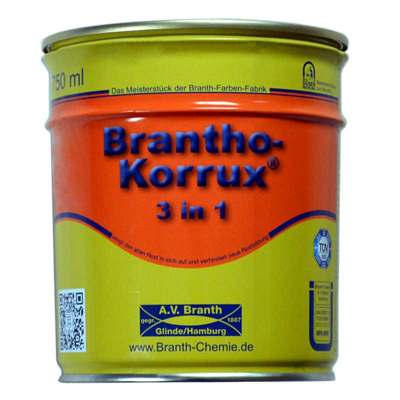 brantho korrux 3 in 1 0 75 liter dose tonnenrot bk320 ral 3028. Black Bedroom Furniture Sets. Home Design Ideas